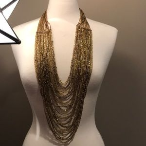 Fabulous super long beaded statement piece